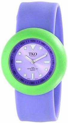 TKO ORLOGI Women's TK590-PGP Rubber Slap Watch