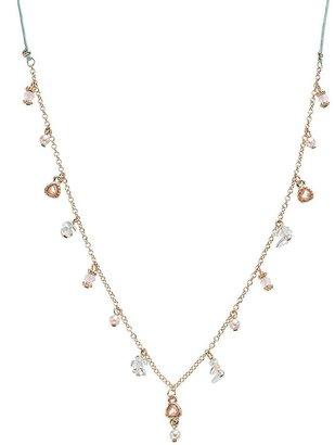Lauren Conrad bead slipknot necklace