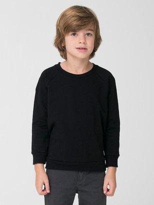 American Apparel Kids' California Fleece Raglan