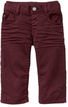 Gap Colored knit-waist straight jeans
