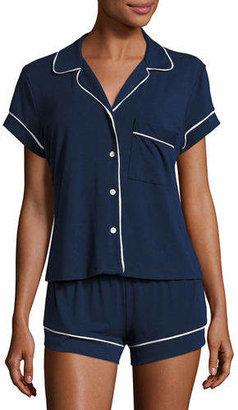 Eberjey Gisele Boxer-Short Jersey Pajama Set