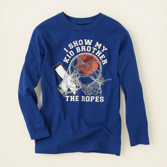 Children's Place Bro ropes graphic tee