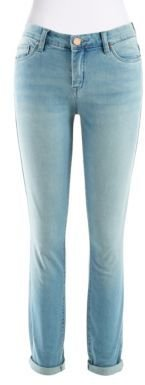 Blank NYC Cropped Jeans with Rolled Cuffs