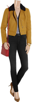 Mother The Looker high-rise skinny jeans