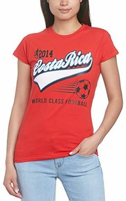 Football Fan Women's England Script Regular Fit Short Sleeve T-Shirt Genuine Cheap Online Official Genuine Online lzfdR