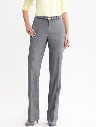 Banana Republic Martin fit grey lightweight wool trouser