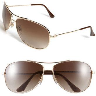 Ray-Ban 'Bubble Wrap Aviator' 63mm Sunglasses