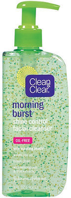 Clean %26 Clear Morning Burst Shine Control Facial Cleanser
