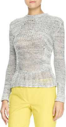 Joseph Long-Sleeve Yarn Sweater