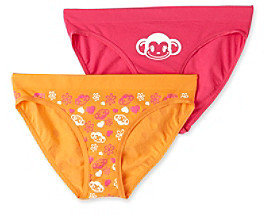 St Eve Intimates St. Eve® Intimates Girls' 6-12 Pink/Orange 2-pk. Seamless Bikini Panties