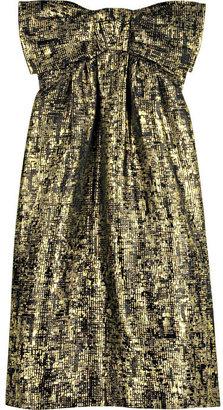 Moschino Cheap & Chic Moschino Cheap and Chic Strapless silk-blend dress