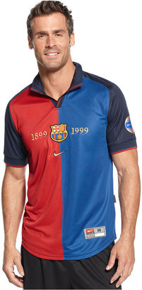 Nike T-Shirt, Barcelona FCB Centenial Soccer Jersey