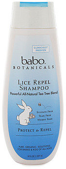 Babo Botanicals Rosemary Tea Tree Shampoo
