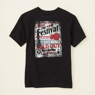 Children's Place Music festival graphic tee