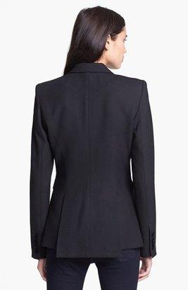Smythe Peaked Velvet Lapel Tuxedo Blazer