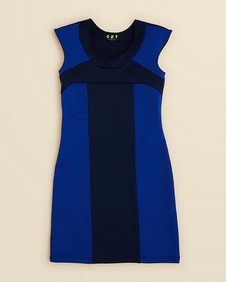 Un Deux Trois Girls' Color Block Dress - Sizes 7-16