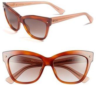 Christian Dior 'Jupon' 55mm Retro Sunglasses