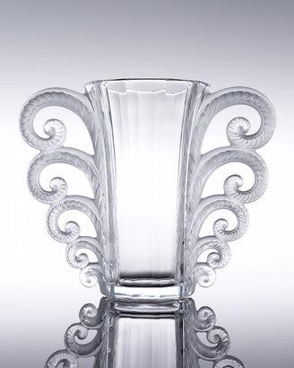 """Lalique Beauvais"""" Vase"""
