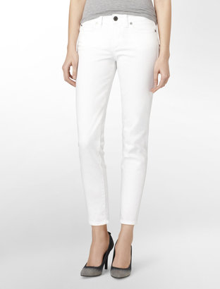 Calvin Klein Skinny Cropped Jeans