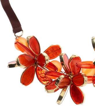 Coldwater Creek Petal art necklace