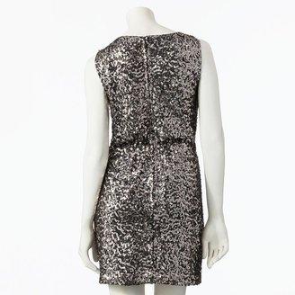 Lauren Conrad sequin sheath dress - women's
