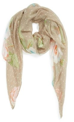 David & Young 'Cabbage Rose' Scarf (Juniors) (Online Only)