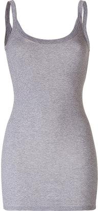 Splendid Heather Grey Ribbed Strap Tank Top