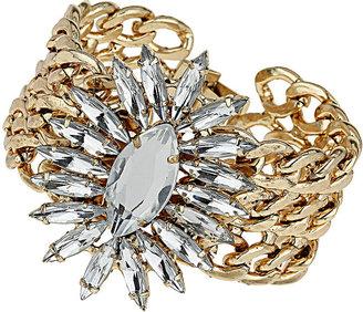 Topshop Rhinestone Burst Bracelet