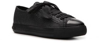 Prada Glitter Flatform Sneaker