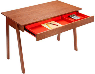 Container Store Walnut Caché Desk