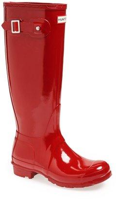 Hunter High Gloss Waterproof Boot