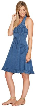 Scully Cantina Halter Dress Women's Dress