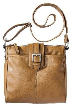 Merona Women's Crossbody Faux Leather Handbag - Merona $22.99 thestylecure.com