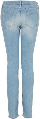 Topshop MOTO Bleach Baxter Skinny Jeans