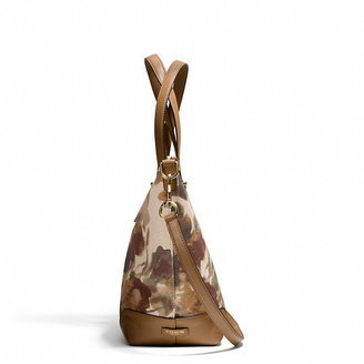 Camo Bleecker Cooper Satchel In Print Fabric