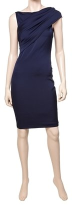 Max Studio Stretch Georgette Cocktail Dress