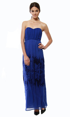 Cynthia Vincent Strapless Maxi