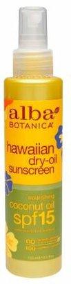 Alba Botanica Hawaiian Dry-Oil Natural Sunscreen, SPF 15 Nourishing Coconut Oil $7.99 thestylecure.com