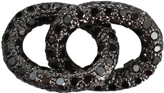 Carolina Bucci black diamond double links