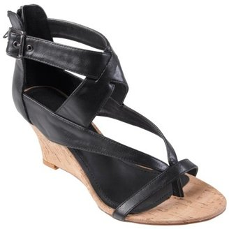 Hailey Jeans Co. Womens Strappy Low Wedge Sandal