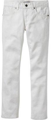 Old Navy Boys White Skinny Jeans
