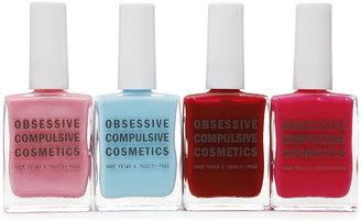 Obsessive Compulsive Cosmetics 4 PieceC Nail Lacquer Set 1 ea