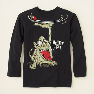 Children's Place Monster graphic tee
