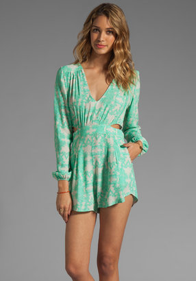 Donna Mizani Ultra Cool Double Side Cut Out Romper