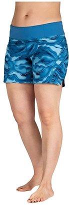 SkirtSports Skirt Sports Go Longer Short (Lagoon Print) Women's Shorts
