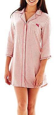 JCPenney Olsenboye® 3⁄4-Sleeve Night Shirt