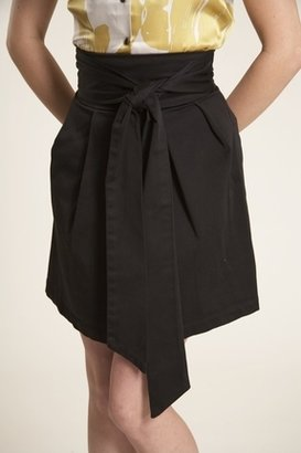 Lauren Conrad Cindy Skirt in Black $173 thestylecure.com