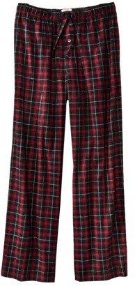 Merona Men's Flannel Pants - Red/Black
