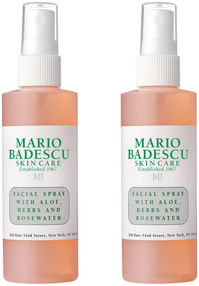 Mario Badescu Facial Spray with Aloe, Herbs and Rosewater, 2 Pack[br]For Dull/Tired Skin
