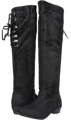 Naughty Monkey Bullet (Black) - Footwear